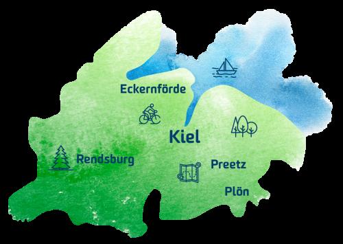 KielRegion Karte